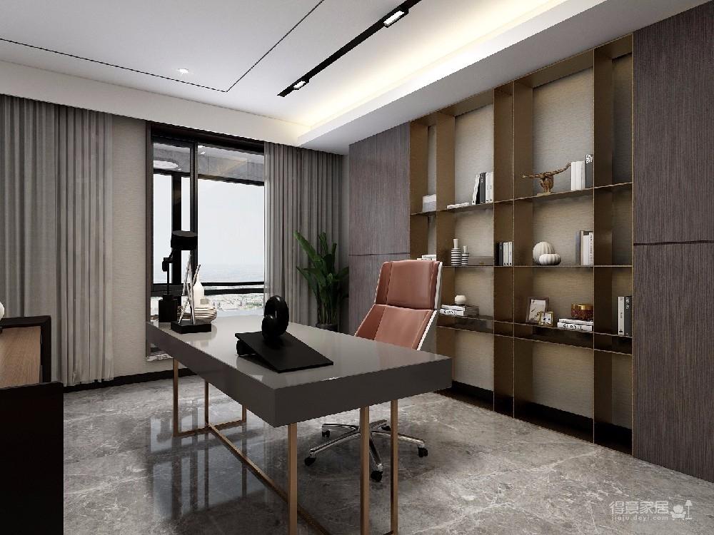 本案设计是现代简约风格,在现代的繁华时代的都市,现代风格尤为让年轻人追捧,简单的线条,简单的颜色,简单的风格让疲惫的业主回到家有种解放的感觉。图_10