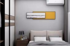 整体空间以简约的白色墙与木质感为主,通过日式的家具与禅意的细节布置,营造出一个舒适自然的端庄气质空间,给人以无限放松的居家体验,宽敞优雅而自然图_3