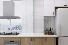 整体空间以简约的白色墙与木质感为主,通过日式的家具与禅意的细节布置,营造出一个舒适自然的端庄气质空间,给人以无限放松的居家体验,宽敞优雅而自然图_6