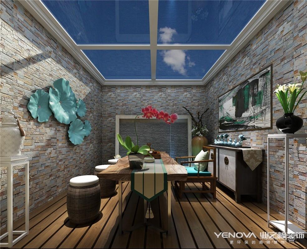 绿地珑墅280平-美式乡村风格