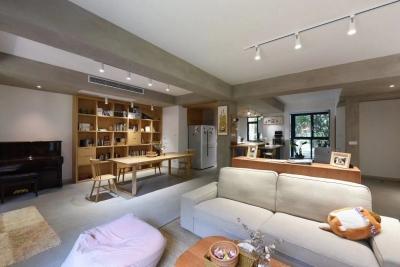 旧房换新装160平三房两厅两卫原木风