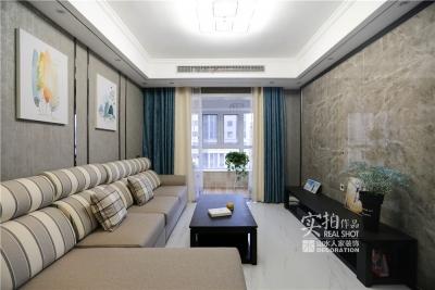 90平两室两厅现代简约风