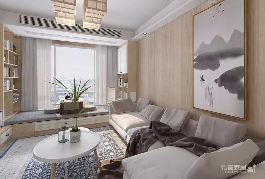 在日式家居空间中,为了持续简约的生活理念,多数色调以白色、米色、黑色、浅灰色等中性颜色为主,再加上淡雅的绿色、黄色作为点缀,非常清新自然。
