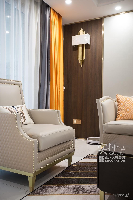 怡芳苑142平现代三室两厅轻奢图_2