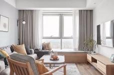 原木北欧风,有2个卧室,还有1个小书房,布局真的很不错。整个家大量搭配了原木家具,清新又自然,文艺又有格调,好喜欢这种休闲又放松的家居氛围。图_1