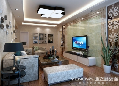 尚湖熙园122平-现代风格