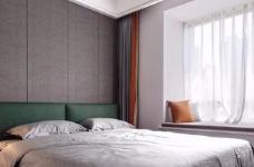 本案以现代风格出发,低饱和度色彩叙述着空间高级感。有序的布局透露着新现代主义纯粹的本质,阿尔卑斯系列瓷砖与跳跃的色彩点缀,让空间灵动富有张力、更具层次感图_3