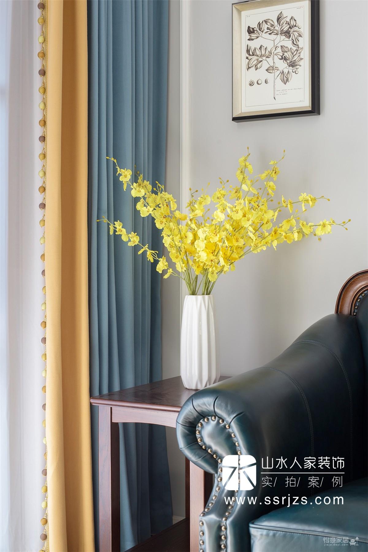 国彩光立方104平三室两厅美式风图_4