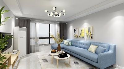在简洁的硬装基础下,搭配了同样简约但又精致优雅的北欧风家具和软装,来打造一个这样温馨舒适的家,让人羡慕不已