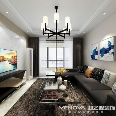 庭瑞新汉口115平-现代风格