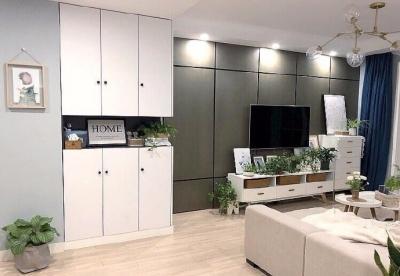 黑白灰+原木色打造清新自然的感觉,不完全北欧也不完全日系的家