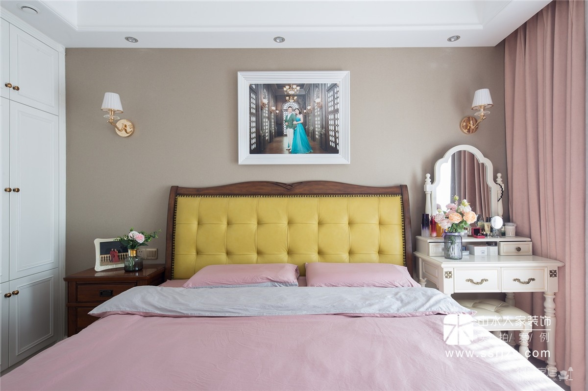 国彩光立方104平三室两厅美式风图_15