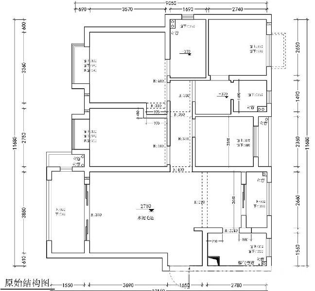 万豪世纪天街123平-现代风格