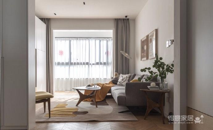 清新鱼骨拼地板,北欧风格的家具,复古拱形门,打造了这个打开家门即感受到放松与惬意的家图_3