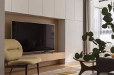 清新鱼骨拼地板,北欧风格的家具,复古拱形门,打造了这个打开家门即感受到放松与惬意的家图_1