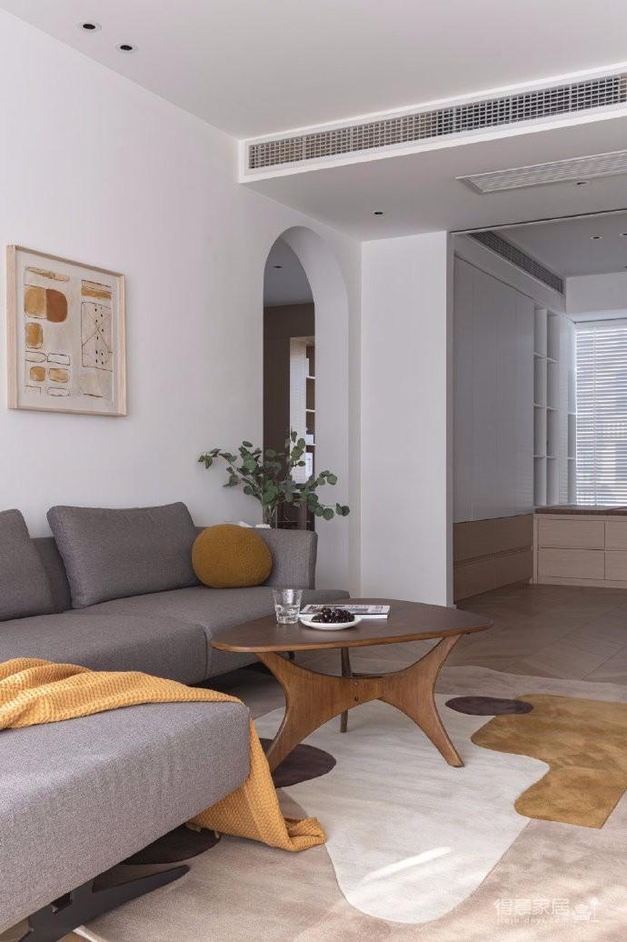 清新鱼骨拼地板,北欧风格的家具,复古拱形门,打造了这个打开家门即感受到放松与惬意的家图_5