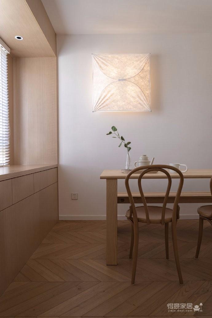 清新鱼骨拼地板,北欧风格的家具,复古拱形门,打造了这个打开家门即感受到放松与惬意的家图_9