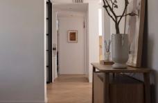 清新鱼骨拼地板,北欧风格的家具,复古拱形门,打造了这个打开家门即感受到放松与惬意的家图_2