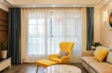 卡座设计 123平三室两厅现代风图_4