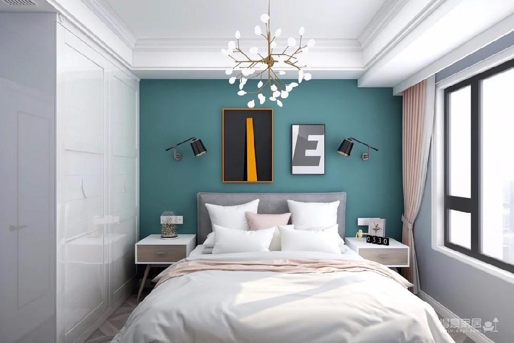 有时候好的设计不需要太多的奢华和造型,用简单的色系,也能让小空间点缀出不一样的温馨和简洁。