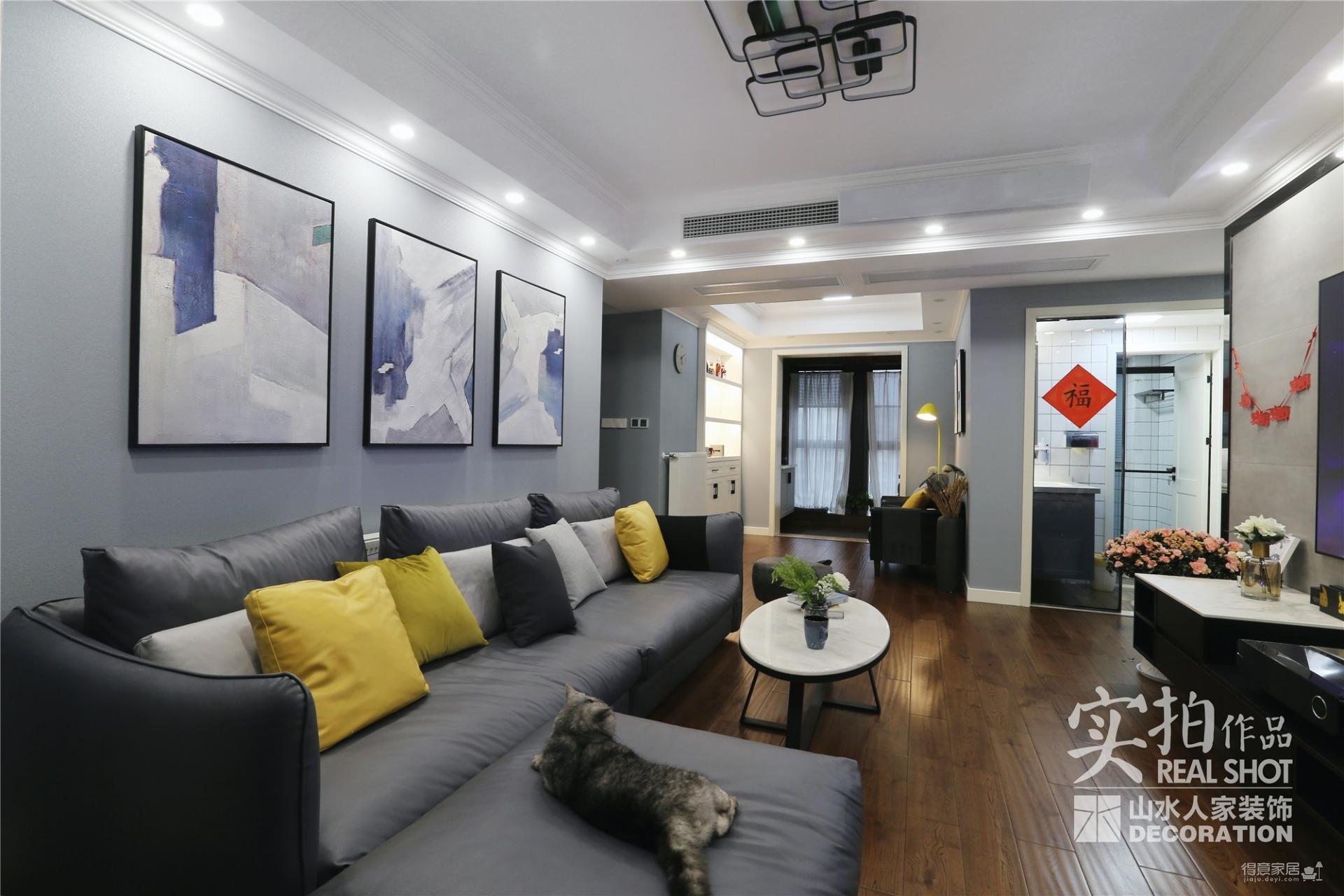 月湖琴声160平四室两厅现代