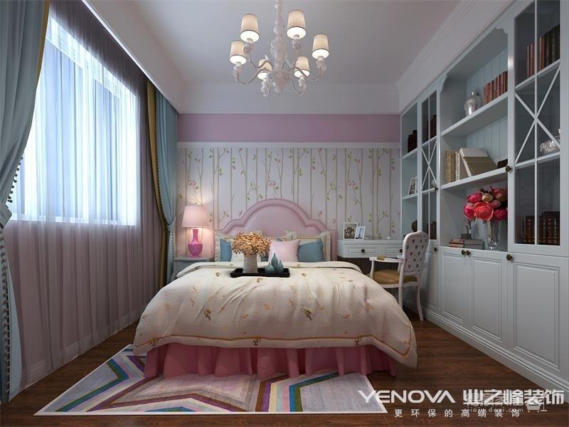 世茂锦绣长江150平-简美风格