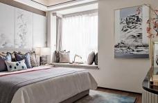 中建大公馆140平-新中式风格设计图_4