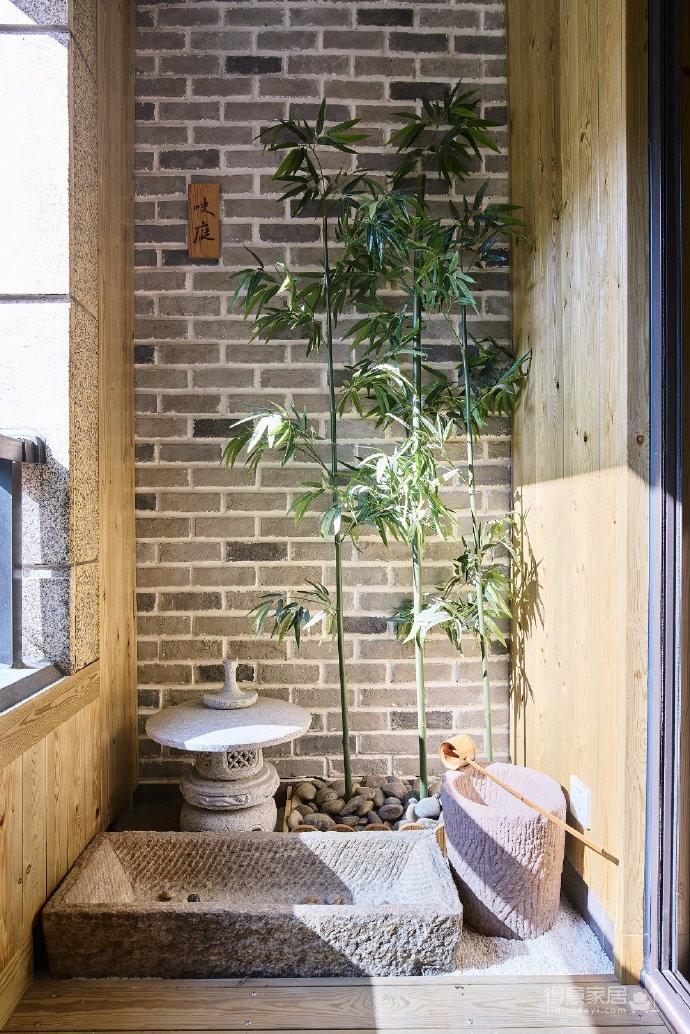 105平米充满日式文化元素的自然随性住所