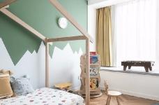 对家的构想:既要舒适,也要养眼。把书桌融入客厅,玄关用的是模仿壁炉的做法 把北欧的生活理念引入居家,惬意的宅家时光就这么开始了。图_8