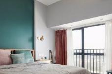 75㎡北欧风二居室,惬意舒适的清新休闲小窝,超爱!图_4