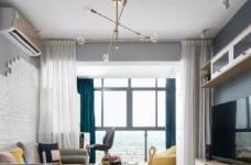 75㎡北欧风二居室,惬意舒适的清新休闲小窝,超爱!图_1