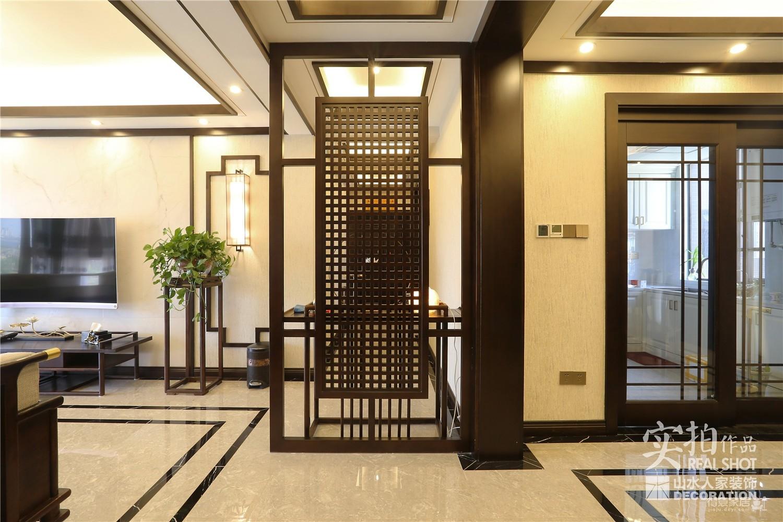 古典200平四室两厅新中式