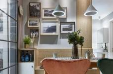 75㎡北欧风二居室,惬意舒适的清新休闲小窝,超爱!图_6