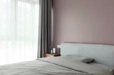 97平北欧风装修,客厅的配色以灰色为主,绿色为点缀,清新又有格调图_3