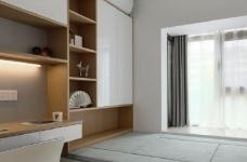 97平北欧风装修,客厅的配色以灰色为主,绿色为点缀,清新又有格调图_5