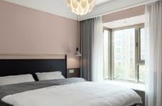 97平北欧风装修,客厅的配色以灰色为主,绿色为点缀,清新又有格调图_4