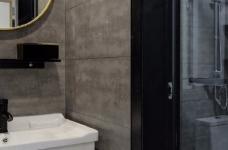 97平北欧风装修,客厅的配色以灰色为主,绿色为点缀,清新又有格调图_8