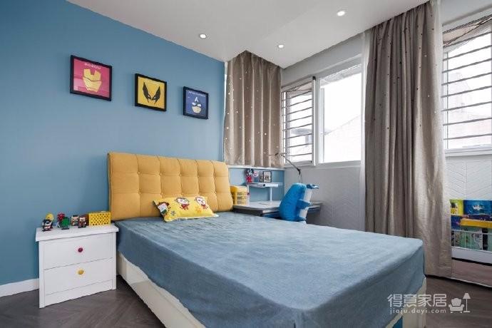 98平三居室,在力求小户型中的大空间,在满足三代人居住的前提下,还能拥有一家人交流活动的公共空间图_4