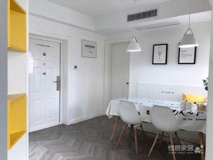 98平三居室,在力求小户型中的大空间,在满足三代人居住的前提下,还能拥有一家人交流活动的公共空间图_6