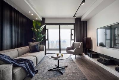 130平米现代简约三居室,所有的朴素都会归于生活的随心所欲