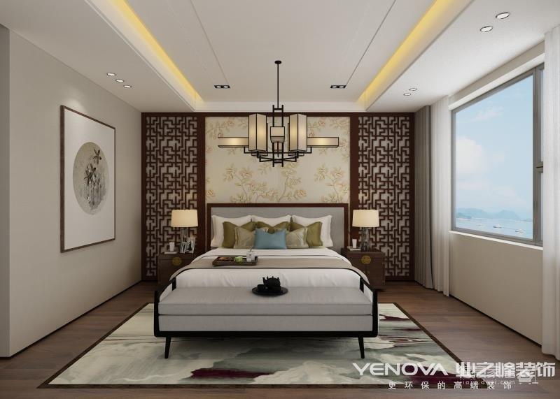 复地东湖国际190平-新中式风格