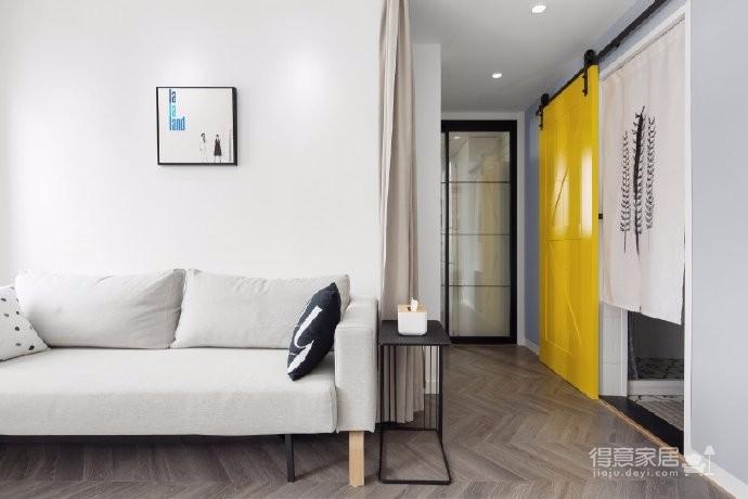 98平三居室,在力求小户型中的大空间,在满足三代人居住的前提下,还能拥有一家人交流活动的公共空间图_3