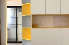 98平三居室,在力求小户型中的大空间,在满足三代人居住的前提下,还能拥有一家人交流活动的公共空间图_2