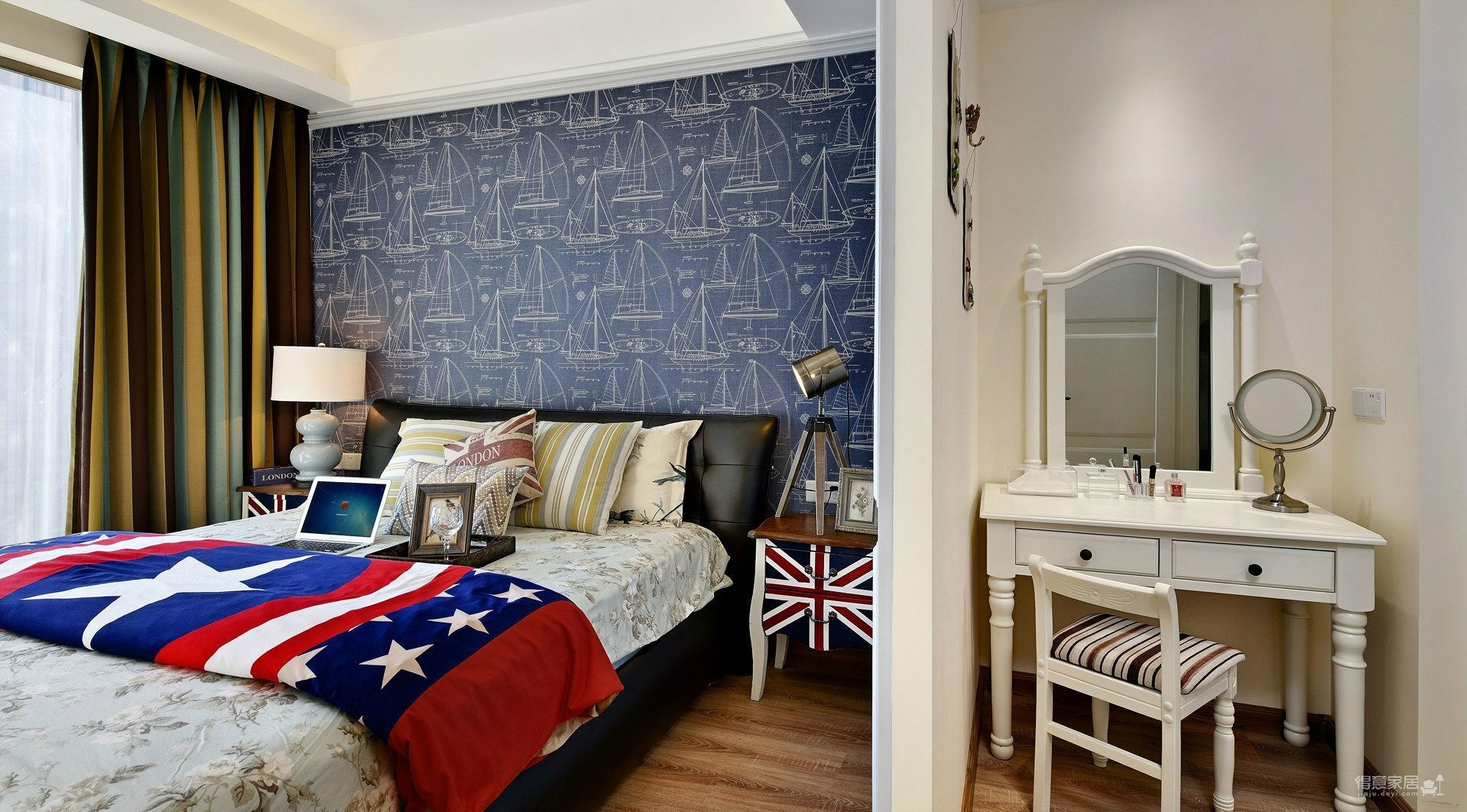 180平四室两厅现代美式风