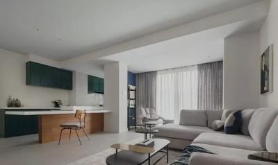 59㎡四口之家没有客厅,却住得舒适又宽敞