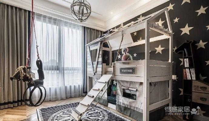 浪漫法式风格家居装修,精致典雅的大气高端住宅,漂亮! 