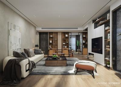金湖家园148平—现代简美