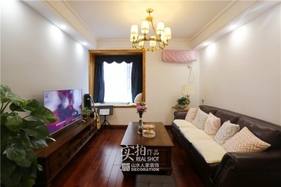 汉桥城中花园89平两室混搭轻奢