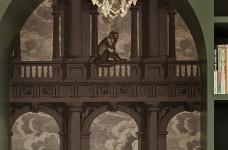 三伏开年之作┃ 几何+色彩,打造Mid-Century Modern复古画廊的家图_5
