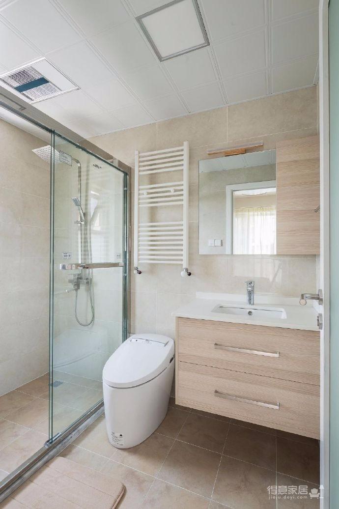 110平米日式风格三居室